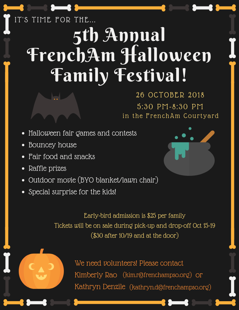 Halloween Family Festival Flyer